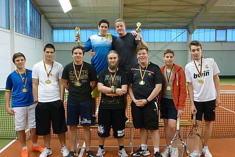 Winter-Tennis-Cup des Kurpfalz Internats